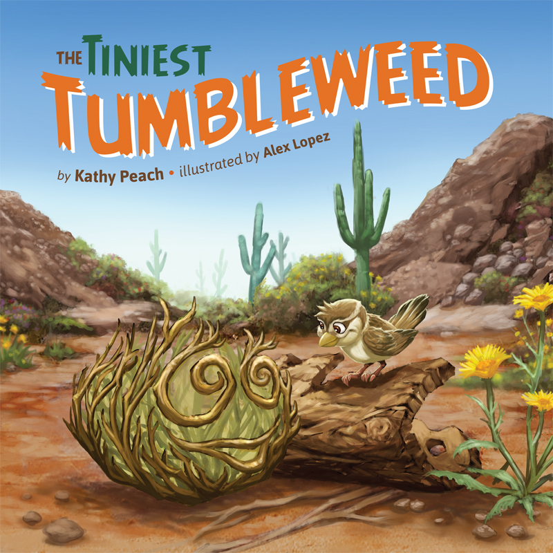 The Tiniest Tumbleweed Front Cover